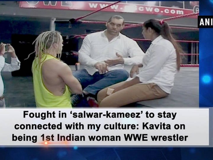 Fought in 'salwar-kameez' to stay connected with my culture: Kavita on being 1st Indian woman WWE wrestler
