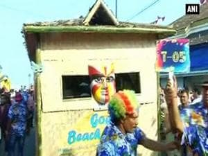 Goa Carnival attracts tourists in large number
