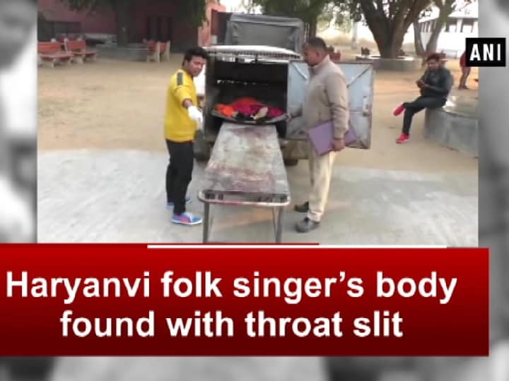 Haryanvi folk singer's body found with throat slit