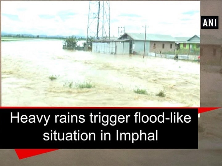 Heavy rains trigger flood-like situation in Imphal