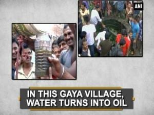In this Gaya village, water turns into oil