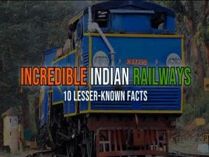 Incredible Indian Railways: 10 interesting facts