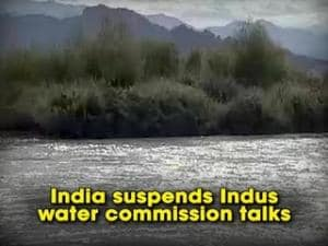 India suspends Indus water commission talks