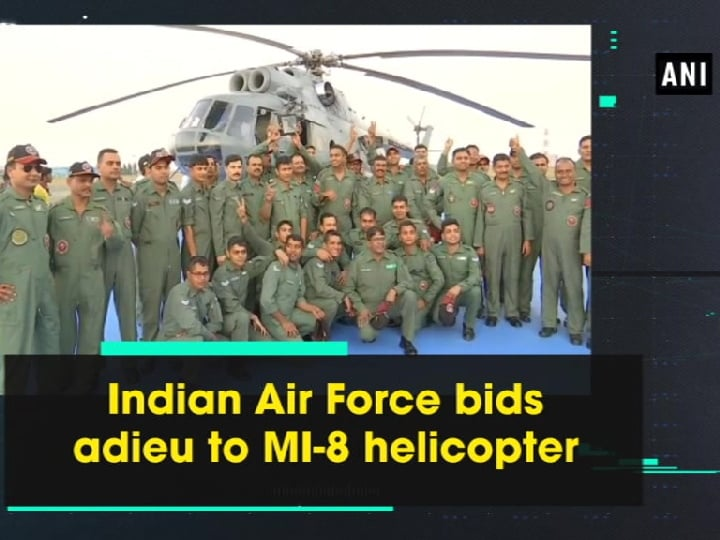 Indian Air Force bids adieu to MI-8 helicopter