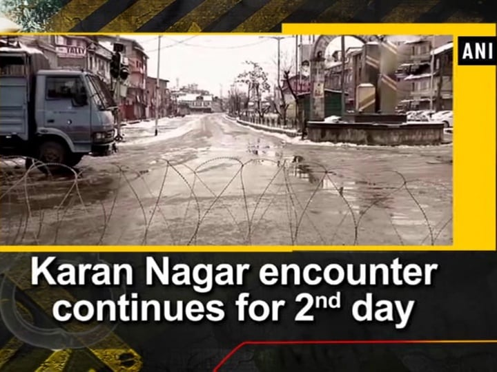Karan Nagar encounter continues for 2nd day