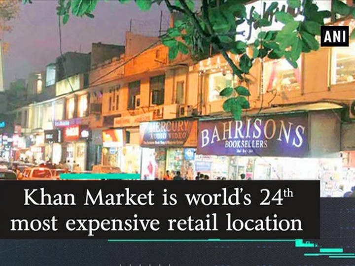 Khan Market is world's 24th most expensive retail location