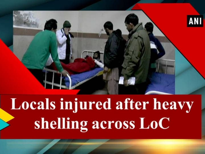 Locals injured after heavy shelling across LoC