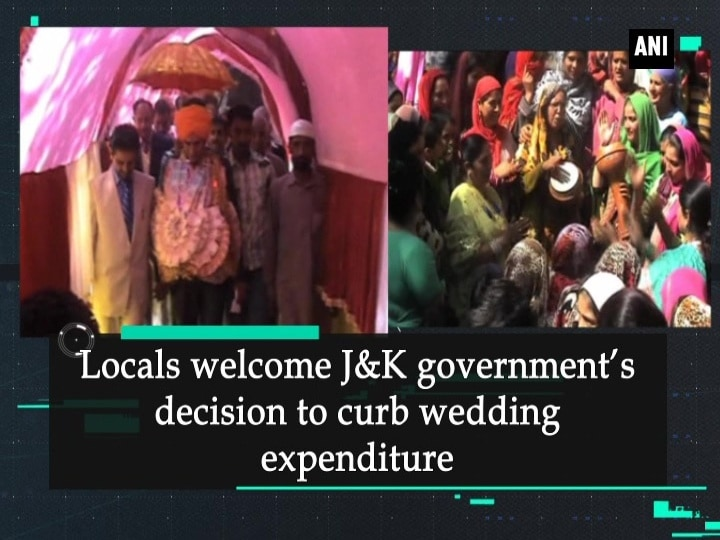 Locals welcome J and K government's decision to curb wedding expenditure