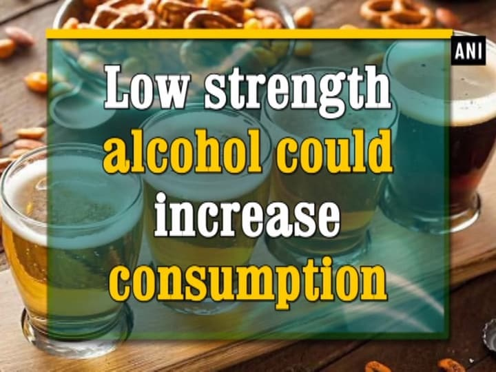 Low strength alcohol could increase consumption