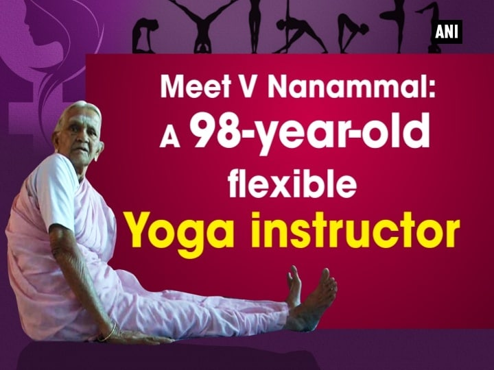 Meet V Nanammal: A 98-year-old flexible Yoga instructor