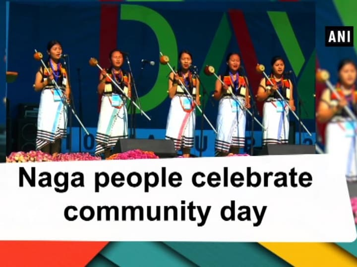 Naga people celebrate community day