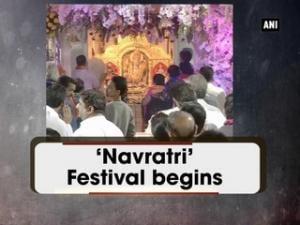 'Navratri' Festival begins