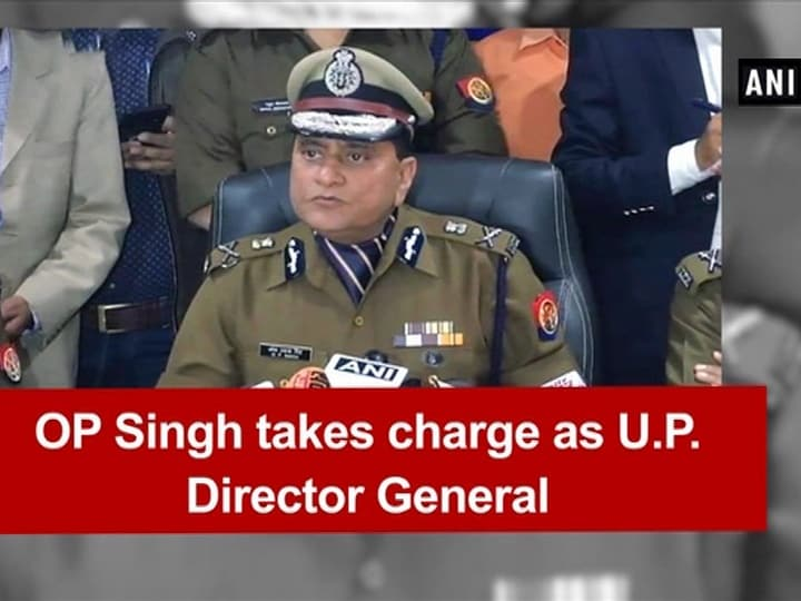 OP Singh takes charge as U.P. Director General