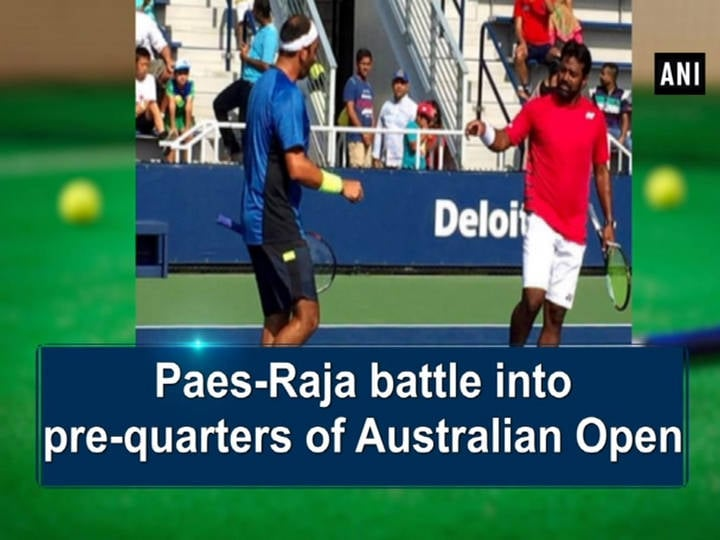 Paes-Raja battle into pre-quarters of Australian Open