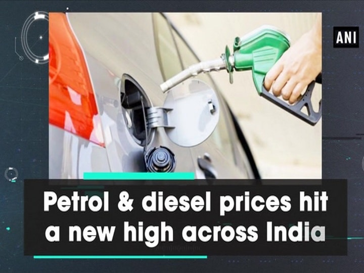 Petrol and diesel prices hit a new high across India