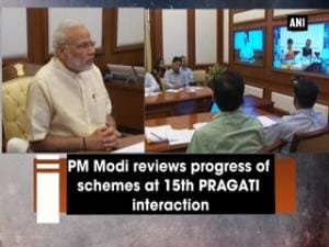PM Modi reviews progress of schemes at 15th PRAGATI interaction