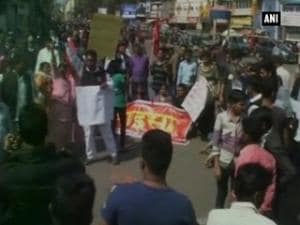 Ranchi: Protest against school management over death of boy