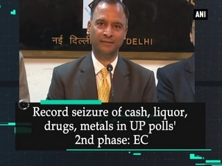 Record seizure of cash, liquor, drugs, metals in UP polls' 2nd phase: EC