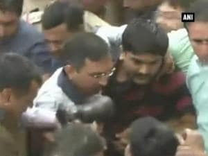Sedition case: Hardik Patel produced in court