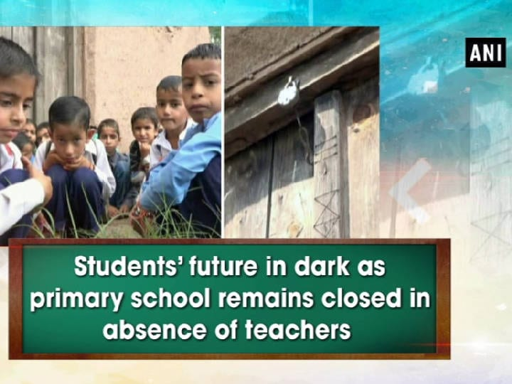 Students' future in dark as primary school remains closed in absence of teachers