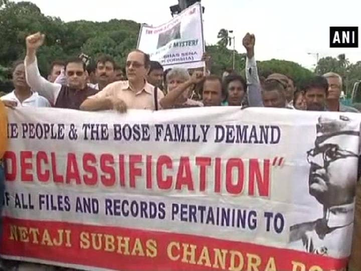 Subhash Chandra Bose's family stages protest demanding truth about his disappearance