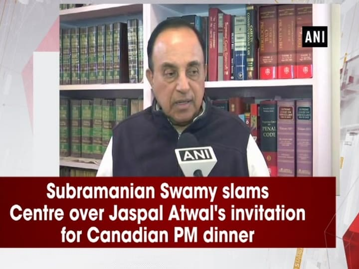 Subramanian Swamy slams Centre over Jaspal Atwal's invitation for Canadian PM dinner