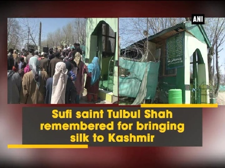 Sufi saint Tulbul Shah remembered for bringing silk to Kashmir