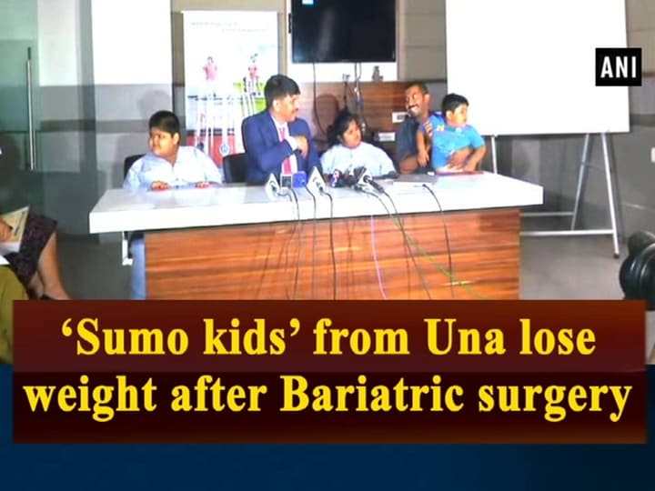 'Sumo kids' from Una lose weight after Bariatric surgery