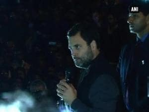 Suppressing voices of students most 'anti-national': Rahul Gandhi