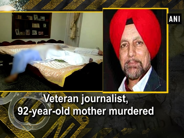 Veteran journalist, 92-year-old mother murdered