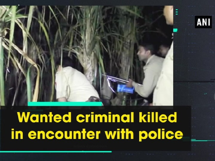 Wanted criminal killed in encounter with police