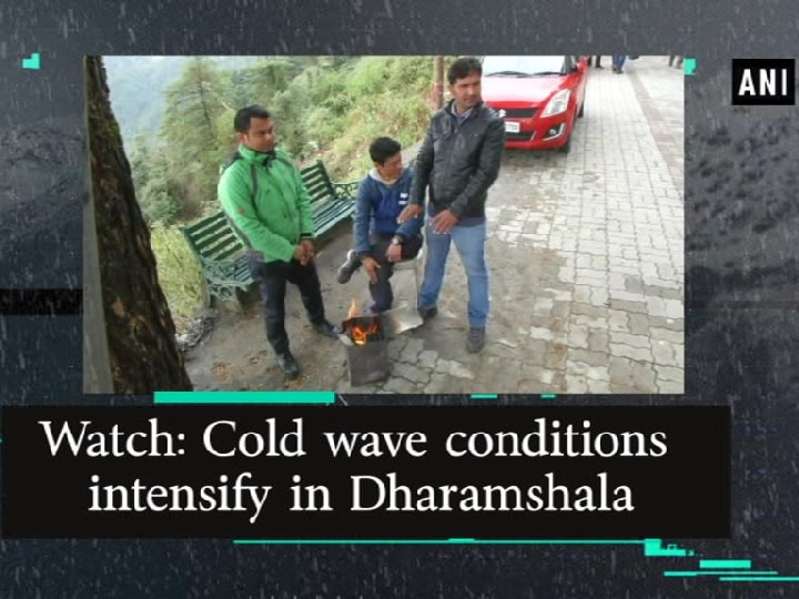 Watch: Cold wave conditions intensify in Dharamshala