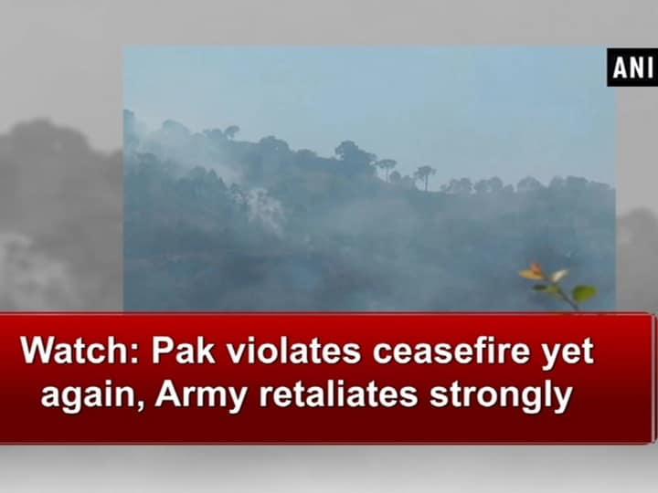 Watch: Pak violates ceasefire yet again, Army retaliates strongly