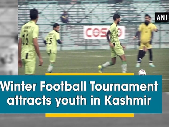 Winter Football Tournament attracts youth in Kashmir