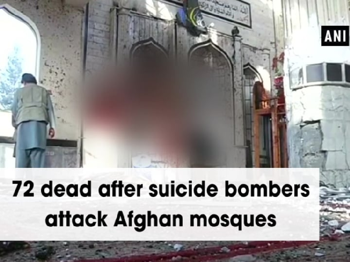 72 dead after suicide bombers attack Afghan mosques