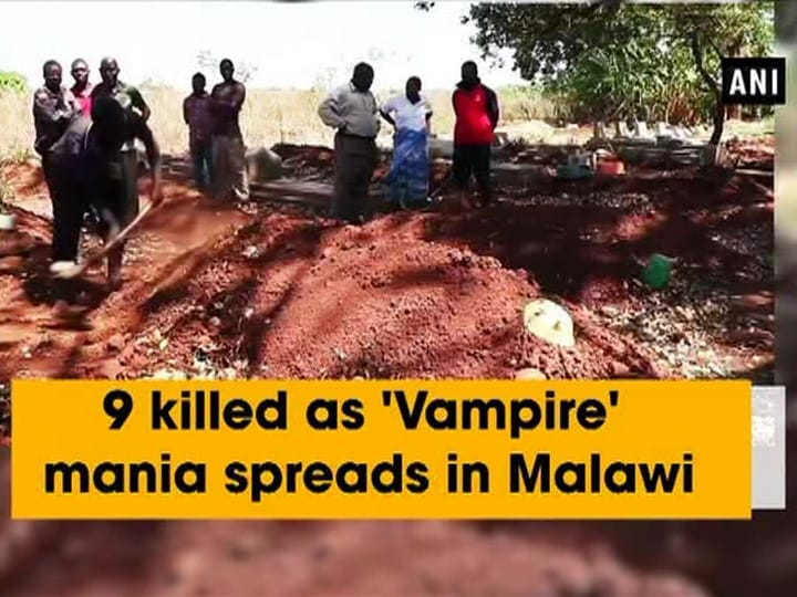 9 killed as 'Vampire' mania spreads in Malawi