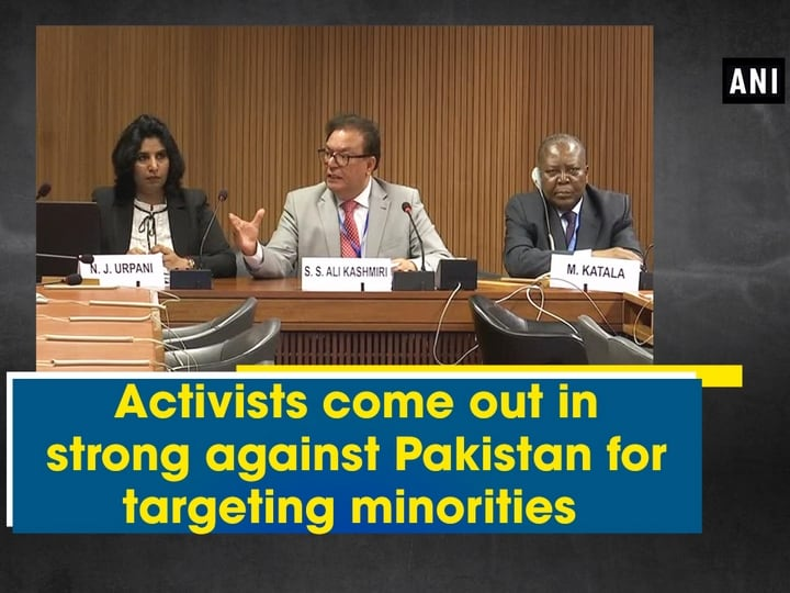 Activists come out in strong against Pakistan for targeting minorities