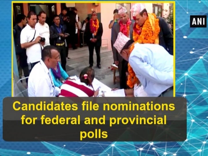Candidates file nominations for federal and provincial polls