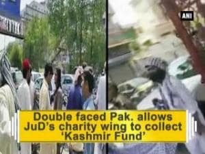 Double faced Pak. allows JuD's charity wing to collect 'Kashmir Fund'