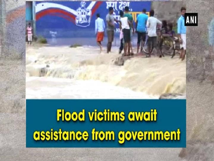 Flood victims await assistance from government