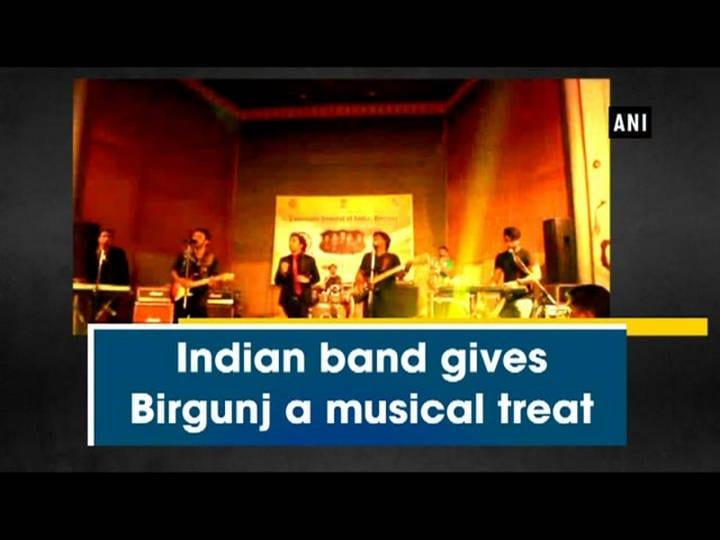 Indian band gives Birgunj a musical treat