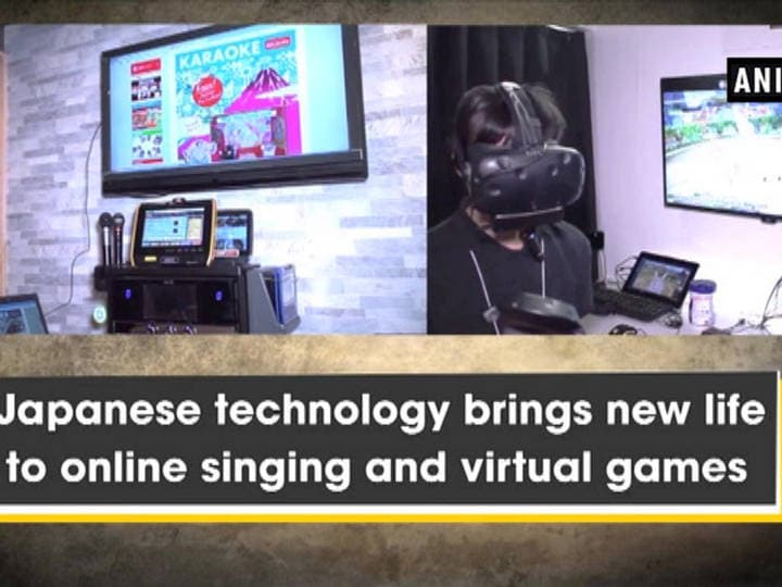 Japanese technology brings new life to online singing and virtual games