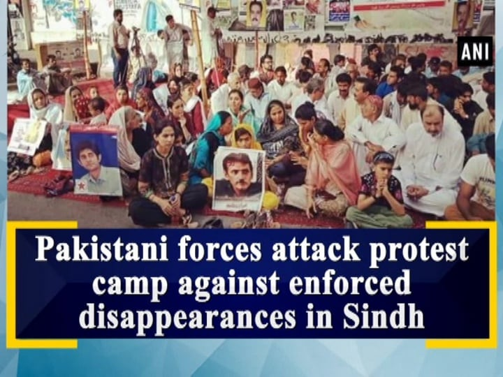 Pakistani forces attack protest camp against enforced disappearances in Sindh