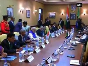 PM Modi holds delegation-level talks with Tanzanian President