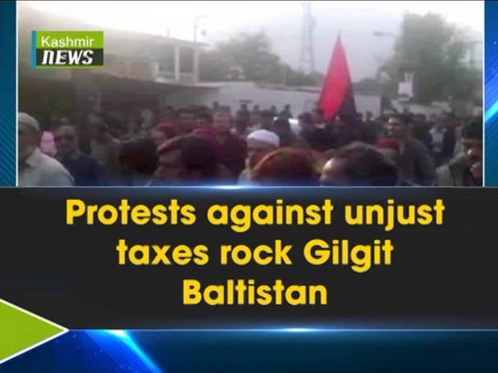 Protests against unjust taxes rock Gilgit Baltistan