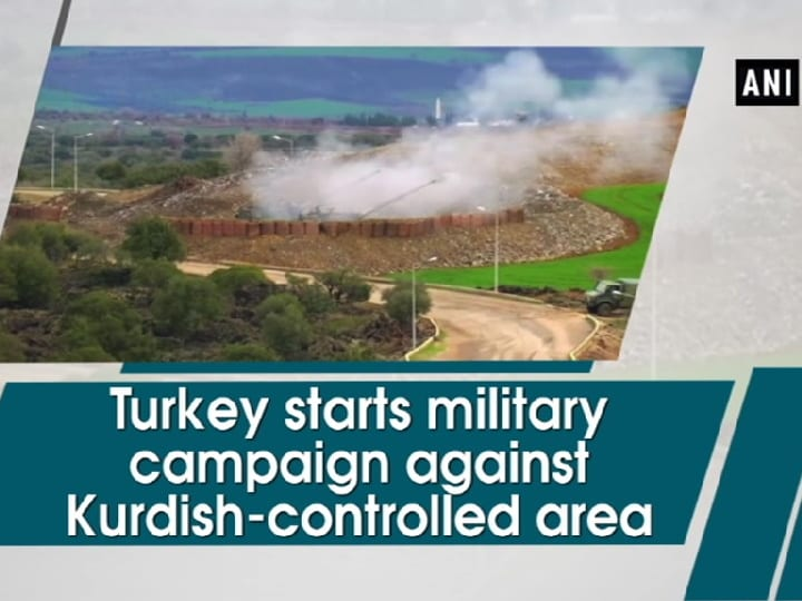 Turkey starts military campaign against Kurdish-controlled area