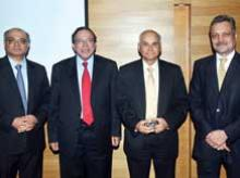 Ashvin Parekh, Pratip Chaudhuri, G N Bajpai and Pradip P Shah