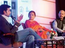 Abhishek Bachchan, Bhawana Somaaya & Vijay Krishna Acharya