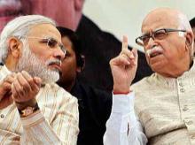Narendra Modi & L K Advani