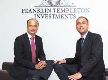 Santosh Kamath (left) and Kunal Agrawal of Franklin Templeton Investments, India